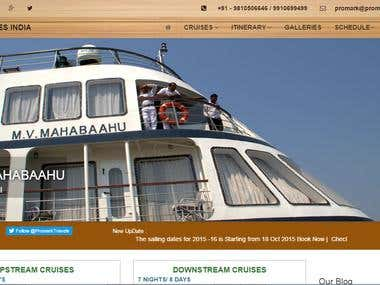 River cruise Booking Web  Application