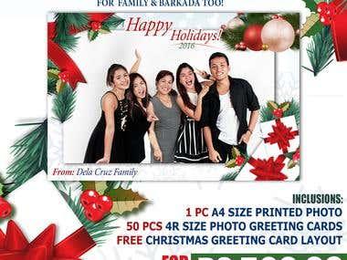 Joyie's Studio Holiday Promotional Poster