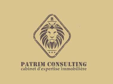 Patrim Consulting logo design.