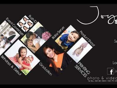 Joyie's Studio Website