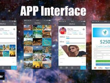 App Page design