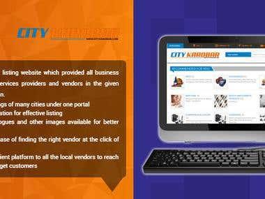 CityKarobar.com - Online Business Listing Directory