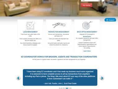 Real Estate Website { http://www.ezcoordinator.com/ }