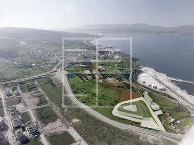 Exterior rendering in Turkey