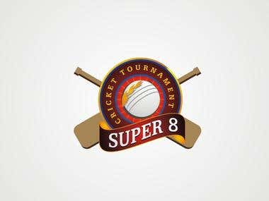 Cricket Tournament logo,