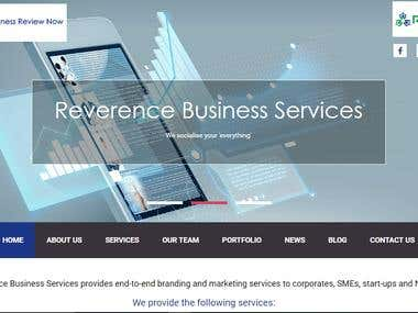 Joomla website with admin panel http://reverence.biz/