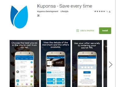 "Only testing""  Kuponsa - Save every time"""