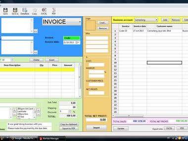 Invoice generator & Calculator