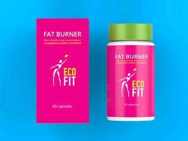 Packaging Design for Health Supplement
