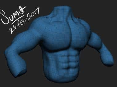 Sculpting & topology