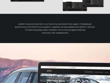 Landing Page Car Selling