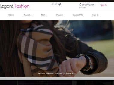 MVC E-Commerce Web application