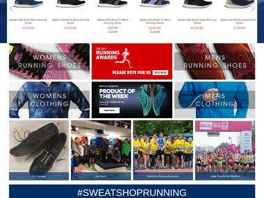 Sweatshop Website