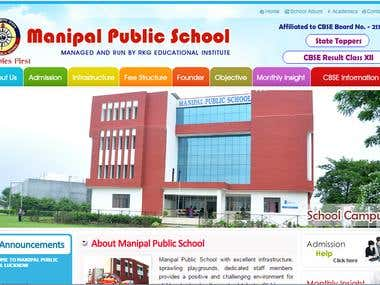 Manipal Public School Web Portal