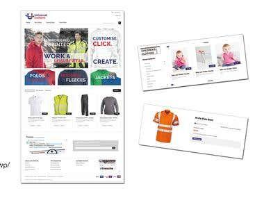 Universal Uniform Wordpress Catalogue Web Site