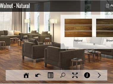 Product Catalog App for renowned tile floor maker (Mexico)