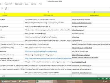 LEAD GENERATION/Internet Research/Web Scraping