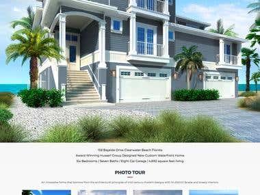 Klein Reality - Single property website