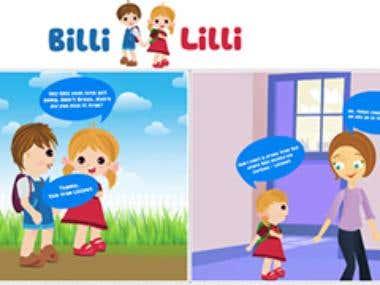 """Liliput """"Billi Lilli"""" Story"""