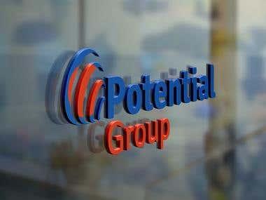 Potential Group (Logo Design)