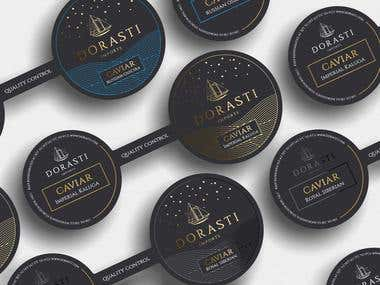 Luxury packaging for luxury caviar