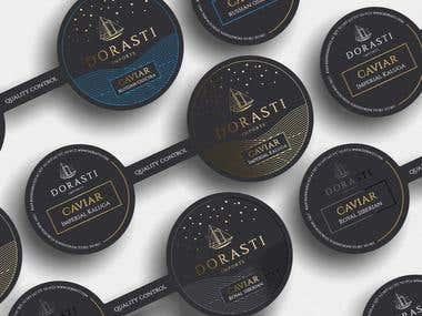 Luxury packaging for luxury caviar