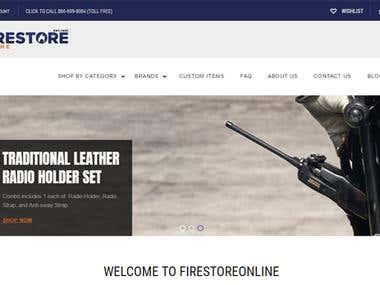 Fire Store Online