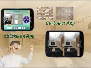 Mobile VR Tile App