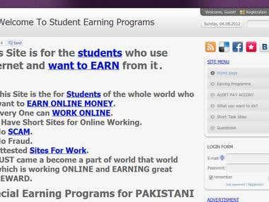 Short task sites detail description
