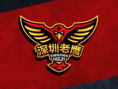Logo design work for client