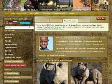 Tour and Safari Operator South Africa