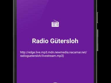 Simple Radio Clone