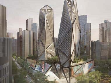 Conceptual Tower