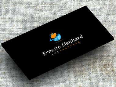 Ernesto Lienhard Logo,business card