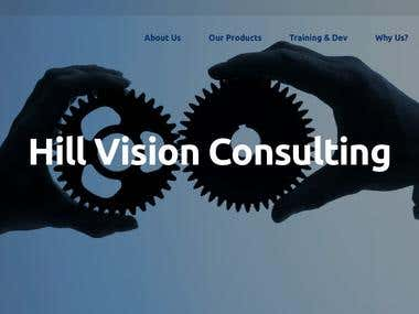 Hill Vision Consulting - Website Design & Development.