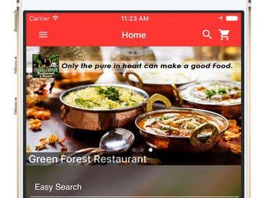 IOS Application - Online Food Order