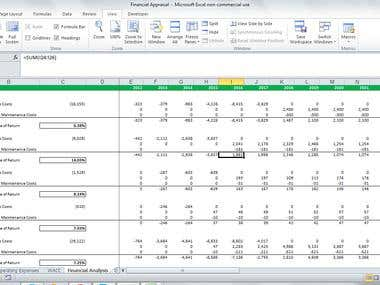 Financial Evaluation of Capital Project