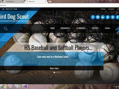 Base Ball Recruiting Website