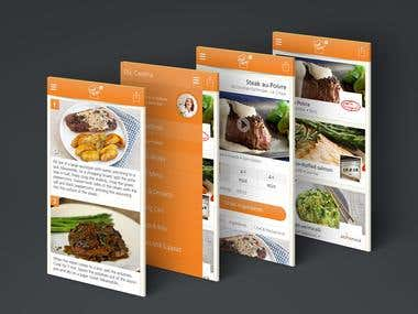 Cheftime - eCommerce and social interaction app