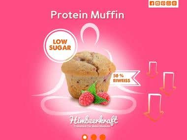 Protein-muffin
