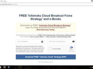 Ichimoku Cloud Breakout
