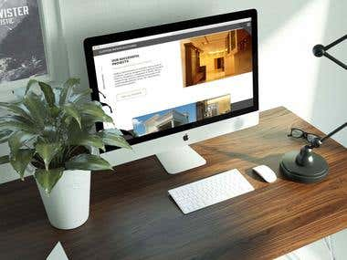 Website Design and Development for Construction Company