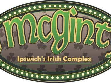 Itish Pub Logo Design