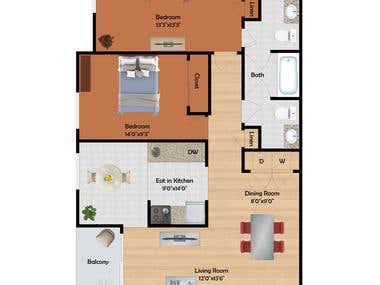 Floorplans for website