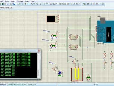 PID controlled temperature with multiple inputs