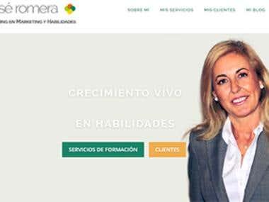 Portada Web www.mariajoseromera.com