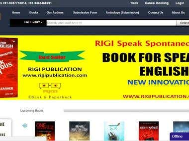 Ecoomerce website