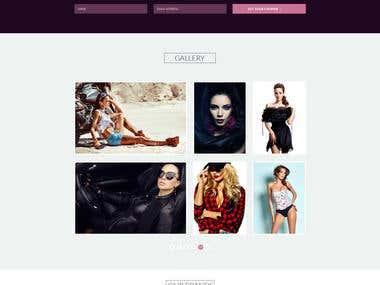 Premium Landing/One Page Web Design/Redesign