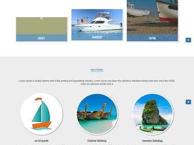 PHP based website developed on CI