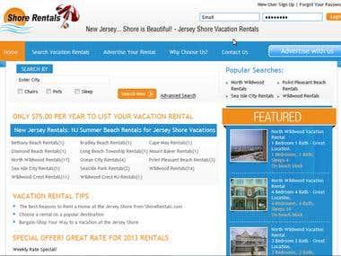 Shorerentals Rentals like Hotels reservation Business Side